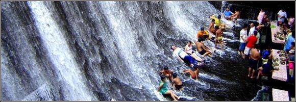 Philippines les pieds dans l'eau