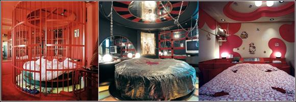 love hotel de l 39 insolite pour une heure ou toute la nuit. Black Bedroom Furniture Sets. Home Design Ideas