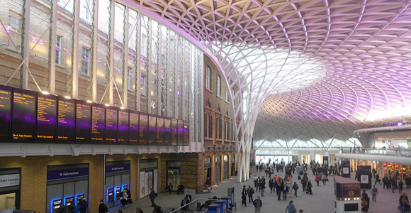 Top 10 des plus belles gares du monde - Gare king cross londres ...