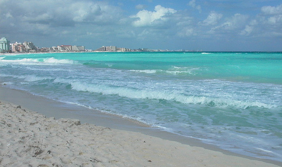 plage cancun