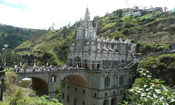 L'église de Las Lajas
