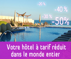 reduction hotel dans le monde