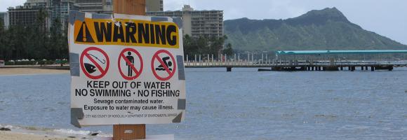 plage éviter