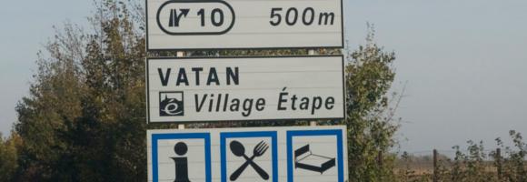 village étape