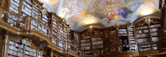 bibliothèque du monastère de St Florian