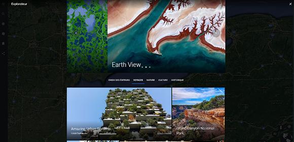fonction explorer google earth
