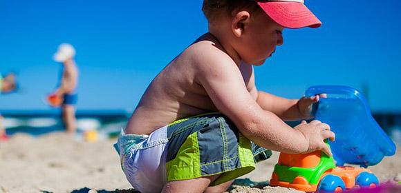 preparer sortie plage enfants