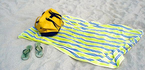 preparer sortie plage sac
