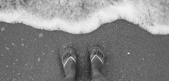 preparer sortie plage tong