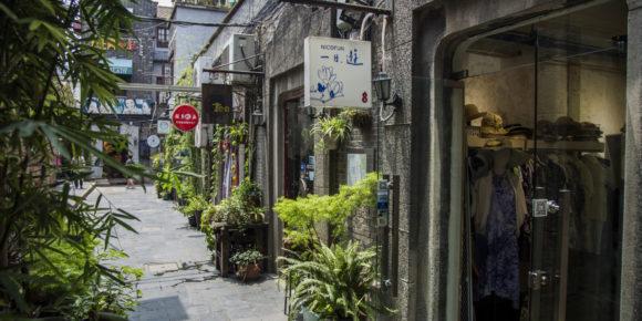 Shangai concession française