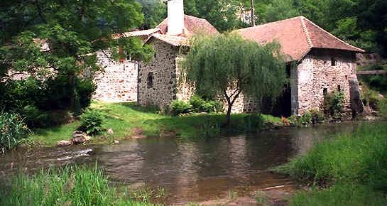 Moulin a eau dans le Perigord